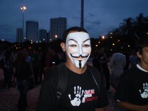 Henrique Guedes (eu) na Marcha Contra a Corrupção